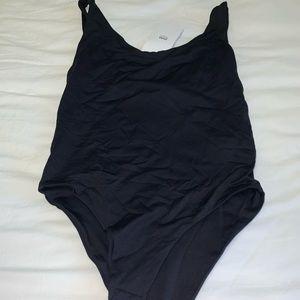 Zara black bodysuit size medium